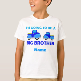 Learning Candy Big Brother Cute Truck Personalized T-Shirt