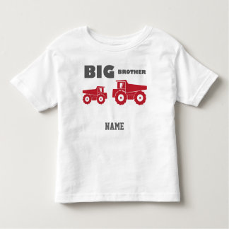 Learning Candy Big Brother Truck Toddler T-shirt