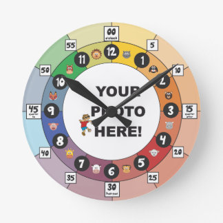 Learning Clock for Toddlers and Young Children