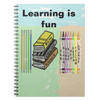 Learning is fun notebook