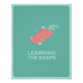 Learning The Soaps Poster