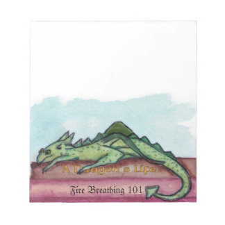 Learning To Be A Dragon Notepad