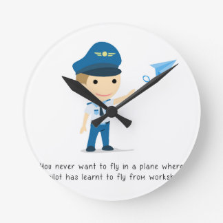 Learning to fly - Clock