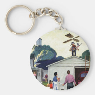 Learning to Fly Keychain