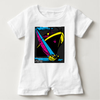 Learning To Sail Baby Romper