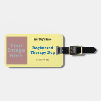 Leash Tag - Therapy Dog