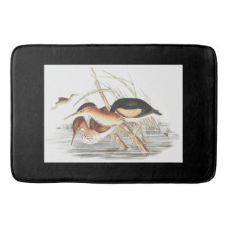 Least Bittern Heron Birds Wildlife Animal Wetlands Bath Mat