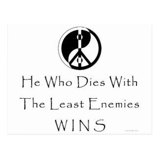Least Enemies Postcard