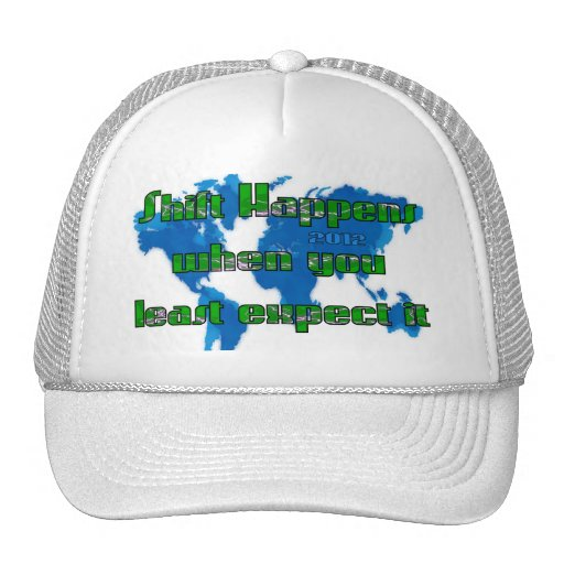 Least Expect Shift 2012 Mesh Hats