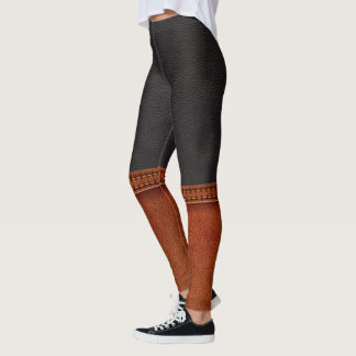 Leather and Boots ILLUSION Pop Leggings
