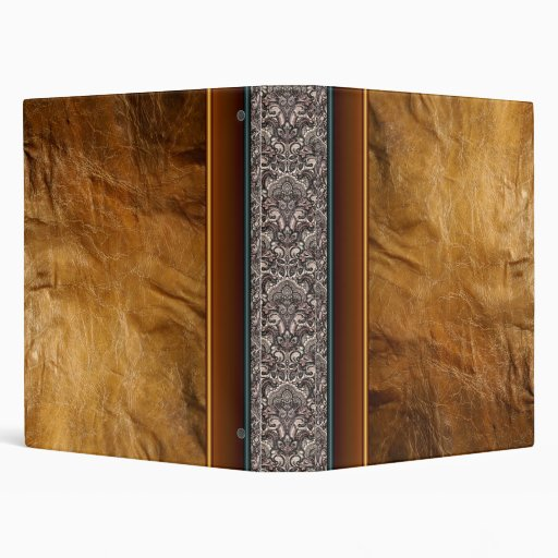 Leather and Lace Keepsake Binder