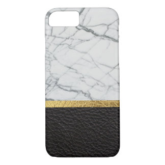 leather and marble iPhone 8/7 case
