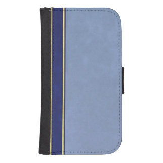 Leather and Suede Textured Wallet Style Case Galaxy S4 Wallet