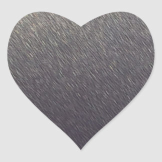 Leather background Sparkle Leather silver diy gift Heart Sticker