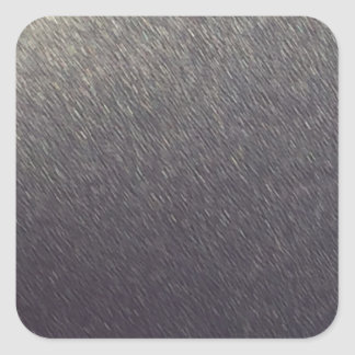 Leather background Sparkle Leather silver diy gift Square Sticker