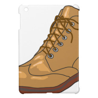 Leather Boot Sketch iPad Mini Covers
