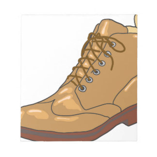 Leather Boot Sketch Notepad