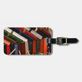 Leather-Bound Journals Bag Tag