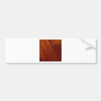Leather Bumper Sticker