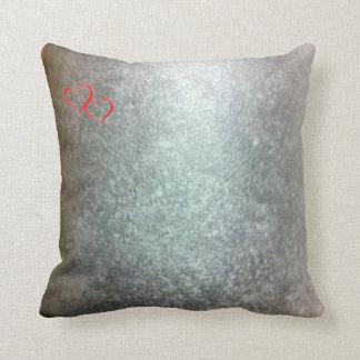 Leather color Throw Cushion 41 x 41 cm
