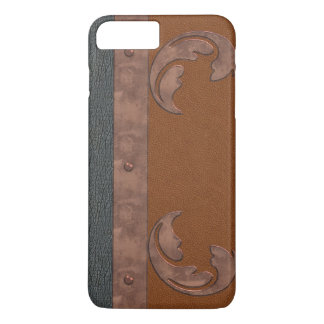 Leather & Copper Look iPhone 8/7 Plus Case