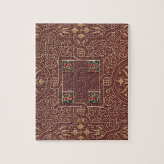 Leather Design, Antique Style Jigsaw Puzzle