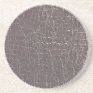 leather grey silver texture template diy add text beverage coaster