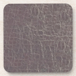 leather grey silver texture template diy add text drink coaster