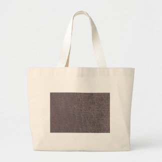 leather grey silver texture template diy add text large tote bag