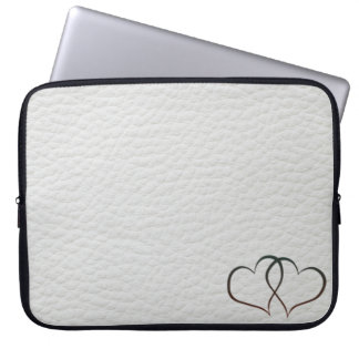 Leather Hearts - Laptop Sleeve