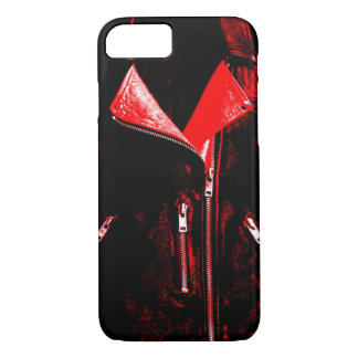 Leather Jacket Red iPhone 7 case