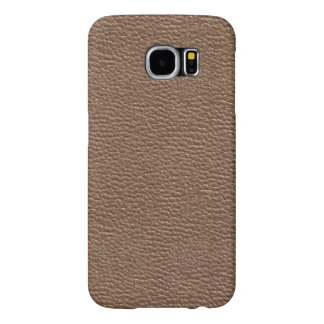Leather like coppery samsung galaxy s6 cases