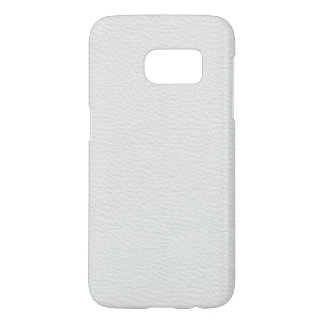 Leather like white samsung galaxy s7 case