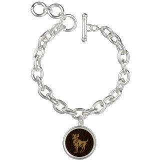 Leather-Look Aries Bracelets