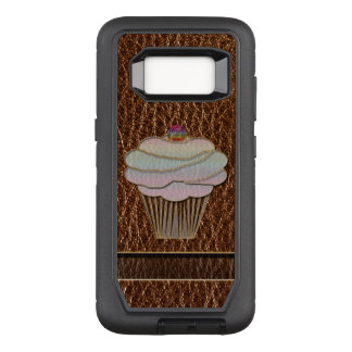 Leather-Look Baking OtterBox Defender Samsung Galaxy S8 Case