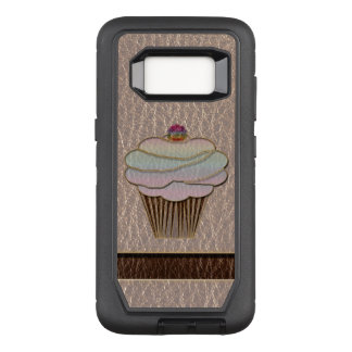 Leather-Look Baking Soft OtterBox Defender Samsung Galaxy S8 Case