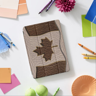 Leather-Look Canada Flag Soft iPad Pro Cover