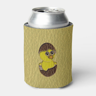 Leather-Look Easter Chicken Can Cooler