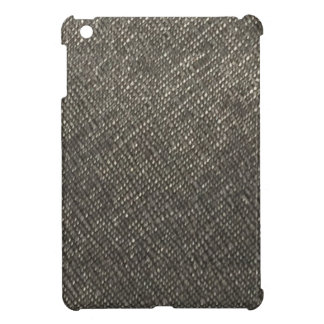 Leather look grey texture template diy add text cover for the iPad mini