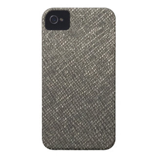 Leather look grey texture template diy add text iPhone 4 covers