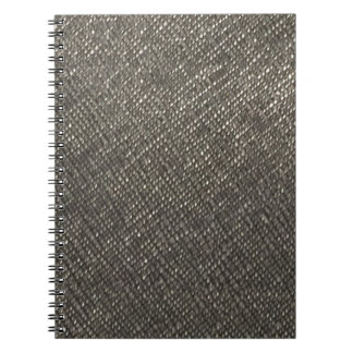 Leather look grey texture template diy add text note book