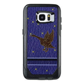 Leather-Look Native American Zodiac Goose OtterBox Samsung Galaxy S7 Edge Case