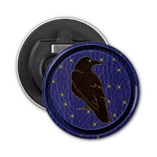 Leather-Look Native American Zodiac Raven Bottle Opener