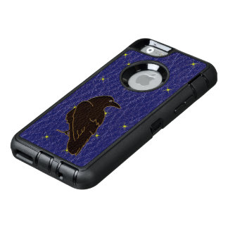Leather-Look Native American Zodiac Raven OtterBox iPhone 6/6s Case