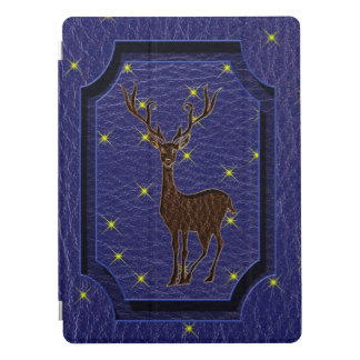 Leather-Look Native Zodiac Deer iPad Pro Cover