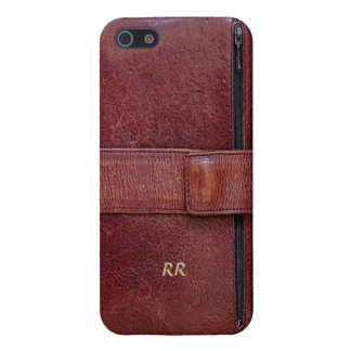 Leather-Look Organizer Effect on iPhone 5 Case