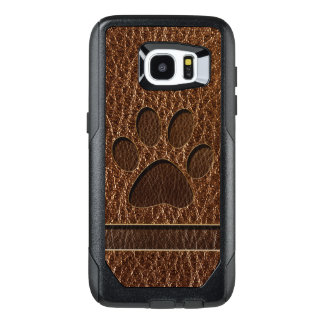 Leather-Look Paw OtterBox Samsung Galaxy S7 Edge Case