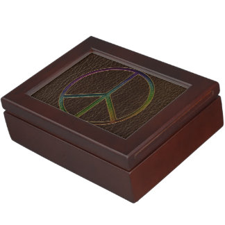 Leather-Look Peace Colour Dark Memory Box