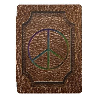 Leather-Look Peace Colour iPad Pro Cover