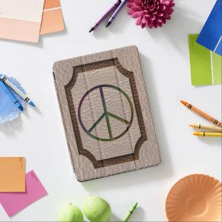 Leather-Look Peace Colour Soft iPad Pro Cover